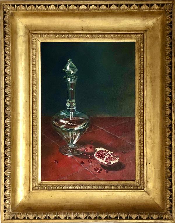 Fiorentina Rossa Fine Art Painting